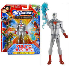 UNIVERSO DC Comic Captain Atom YOUNG JUSTICE ACTION FIGURE NUOVI/SIGILLATI