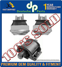 NEW MERCEDES W210 E420 ENGINE MOTOR MOUNT TRANSMISSION MOUNTS SET 3PC 1997