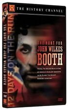 THE HUNT FOR JOHN WILKES BOOTH (HISTORY CHANNEL) NEW AND SEALED