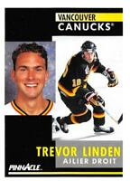 1991-92 Pinnacle French NHL Hockey Cards Pick From List 1-250