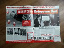 1937 Delco-Frigidaire GM General Motors Ad  Rotopower Unit