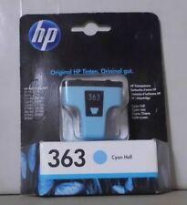 ORIGINALE HP 363 CIANO CHIARO c8774ee Photosmart 3110 3210 3310 8250 c5180