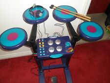 Electronic percussion rocking rhythms drummer, Sticks, phone, microphone & pedal