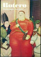 Fernando Botero. Catalogo di mostra, Marlborough Gallery, New York 1972
