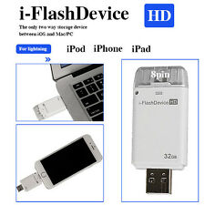 32GB USB i-flash Drive U DISK 8 PIN MEMORY STICK per iPhone 5 / 6 PLUS / iPad