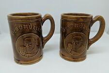 New listing Vtg 30s Gesundheit German Beer Stein Mug, Neustadtl Stroudsburg, Pa, Set of 2