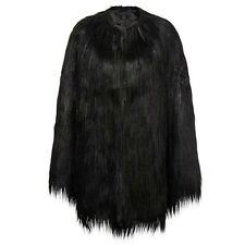 Unreal Fur - Black Coat/Cape, One size