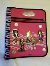 2003 Collectible Vintage Bratz 3 Ring Zipper Portfolio Binder