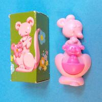 """Vtg '75 Avon ROCK-A-ROO PIN PAL Fragrance Glace Kangaroo & Joey Locket 2.75"""" NOS"""