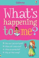 Usbourne Whats Happening To Me? Girls Edition By-Susan Meredit&Nancy Leschnikof
