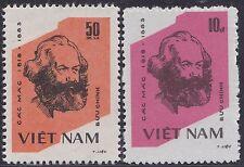 VIETNAM N°462/463** KARL MARX 1983 Vietnam 1317-1318 MNH