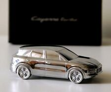 2017 NEW Porsche Cayenne Turbo E3 Billet Model Paperweight Solid Metal Chrome