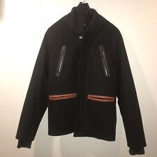 Nike NSW Sportswear Destroyer Varsity Jacket Size Small Wool Black