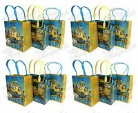 (24ct) 'The Movie Minions' Birthday Boy Party Favor Goodie Loot Gift Bags