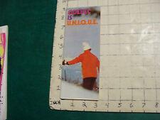 Vintage High Grade SKI Brochure: QUEBEC IS UNIQUE 1974