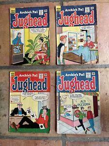 Archie's Pal Jughead Comic Books # 105, #106, #107 & #117 - Feb. '64 - Feb. '65
