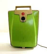 Vintage 1960's HOOVER Slimline Green Vacuum Cleaner Model 2017 ~ Main Unit Only