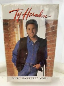 Ty Herndon What Mattered Most (Cassette Single) New