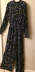Ladies Marks And Spencer Jumpsuit Size 10 Great Condition