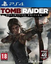 PS4 -- Tomb Raider - Definitive Edition -- NUOVO
