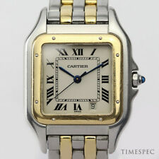 Cartier Panthere Midsize Steel & Gold Ref. 1100 With Papers