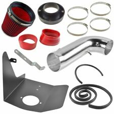 Performance Cold Air Intake CAI Heat Shield Red Filter for Chevy Camaro V8 6.2L