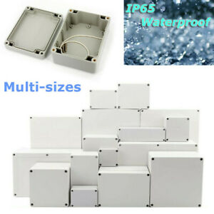 IP65 Waterproof Electronic Project Enclosure ABS Plastic Case Screw Junction Box