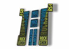 Rock Shox Rs1 2018 Fork Decal Mountain Bike Cycling Sticker Adhesive Green Blue