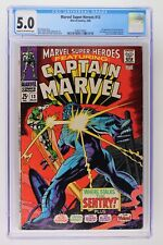 Marvel Super-Heroes #13 - Marvel 1968 CGC 5.0 1st Appearance of Carol Danvers. 2