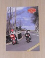 MOTO GUZZI LE MANS 1000 Motorcycle Sales Brochure Jan 1990