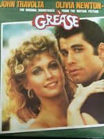 John Travolta Olivia Newton-John  GREASE The original soundtrack  Vinyl LP