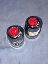 RARE Accessory Ruby Red Jewel License Lights for 1949 1950 Chevy Pontiac NOS!!