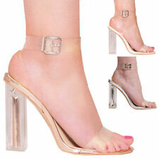 Unbranded Women's High (3-4.5 in.) Strappy, Ankle Straps Heels