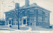 DANIELSON CT – New $50,000 High School Building - 1910