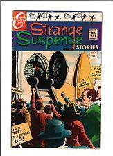 """STRANGE SUSPENSE STORIES #1  [1967 GD+]  """"YESTERDAY'S MONSTER"""""""