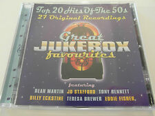 Great Jukebox Favourites - 20 Hits Of The 50`s ( CD Album ) Used Very good