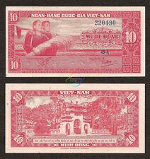 SOUTH VIETNAM 10 Dong, 1962, P-5, AU