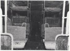 ORIG. FOTO KRIEGSGESCHÄDIGTER S-BAHNWAGEN BERLIN MITTE UM 1945 (AF160)