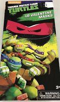 Valentines Turtles Teenage Mutant Ninja 16 Valentine Masks New Nickelodeon Gift