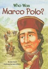 USED (GD) Who Was Marco Polo? by Joan Holub
