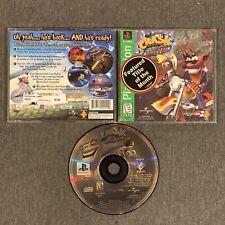 Crash Bandicoot: Warped (Sony PlayStation 1, 1998) Ps1 Ps Psone Cib