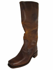$378 Frye 150th Anniversary Womens Cavalry Riding Boots, Rust, US 7.5