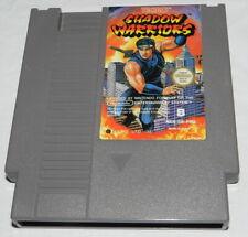 SHADOW WARRIORS     Nintendo  NES Spiel    GETESTET