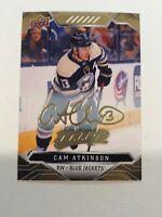 2019-20 UD Upper Deck MVP GOLD Script Parallel #46 Cam Atkinson Hockey Card
