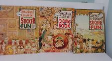 Lot of 3x Snugglepot & Cuddlepie Gumnut Babies Fun Colouring Books May Gibbs!