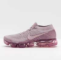 Nike Air Vapormax Flyknit Purple Size 9.5 US Womens Athletic Running Shoes
