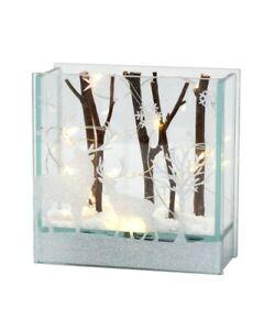 SMALL Deer Lightbox - LED glass lightbox GE1003