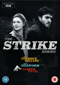The Strike Series (Cuckoo's Calling, Silkworm, Career of Evil) (DVD) Tom Burke