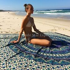 Indian Mandala Tapestry Boho Elephant Wall Hanging Hippie Bedspread Throw Decor