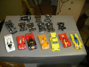 LOT of HO STUFF CARS & CHASSIS